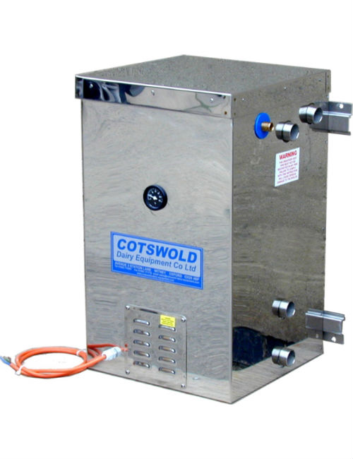 mini boiler   dairy water heater cotswold dairy equipment