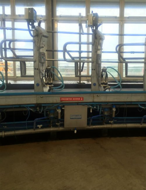 Automatic Cluster Flush | Rotary Parlour Cluster Flush